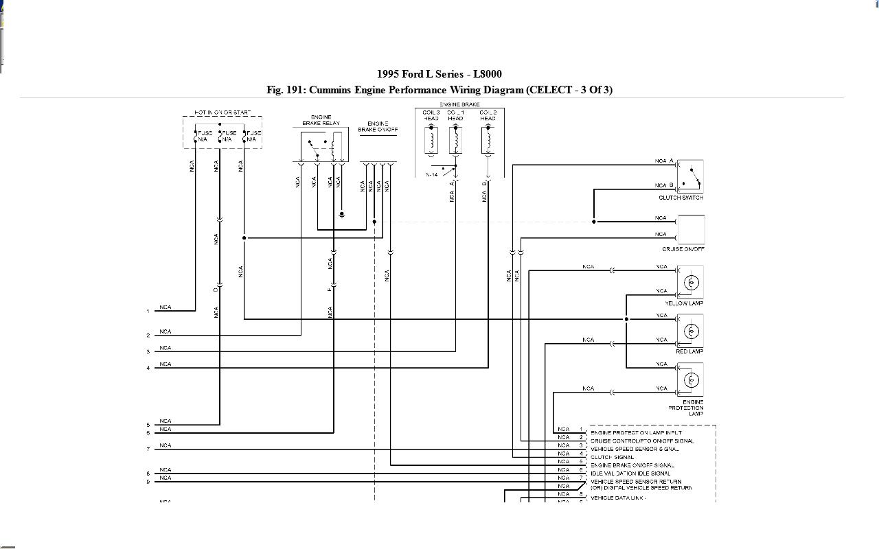 Ford L8000 Wiring Diagram Wiring Diagram Frankmotors Es