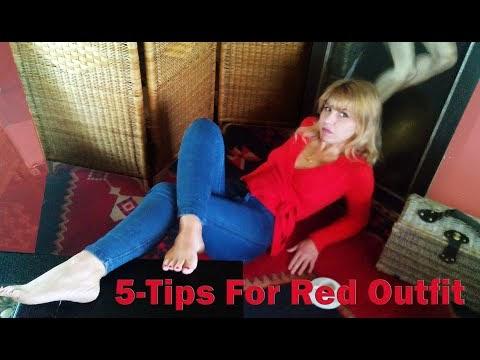 5 Τρόποι Να Φοράμε Το Κόκκινο