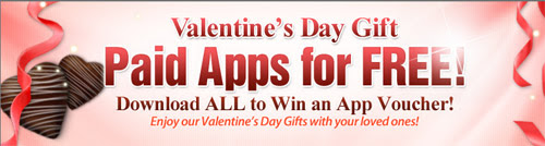 Samsung offers free apps to bada and Android users for the Valentine's Day