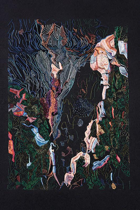 Une méditation sur écorce d'arbre - PYRO Gallery