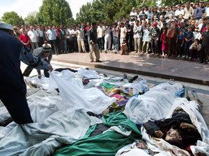 Masacrul de la Andijan, Uzbekistan (Imagine: Mediafax Foto/AFP)