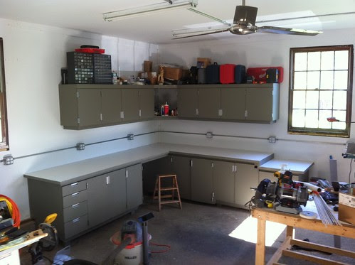 new workbenches & cabinets | design & make
