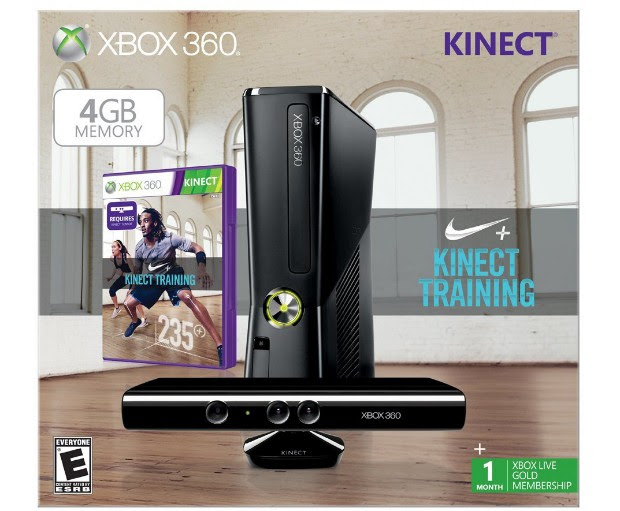 DNP Amazon listing points to unannounced Xbox 360 with Kinect Nike bundle