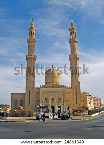 stock photo : Hurghada, Egypt, central jami. To see similar images, please VISIT MY GALLERY.