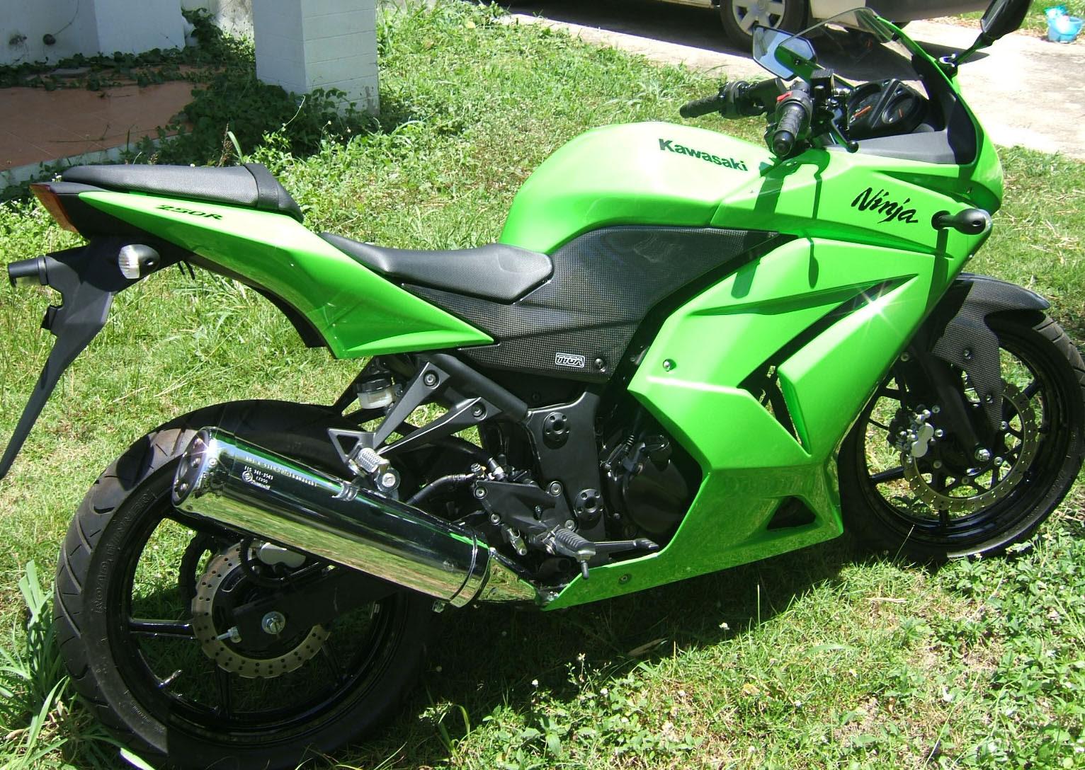 Carbon Set 2008 10 Kawasaki Ninja 250r