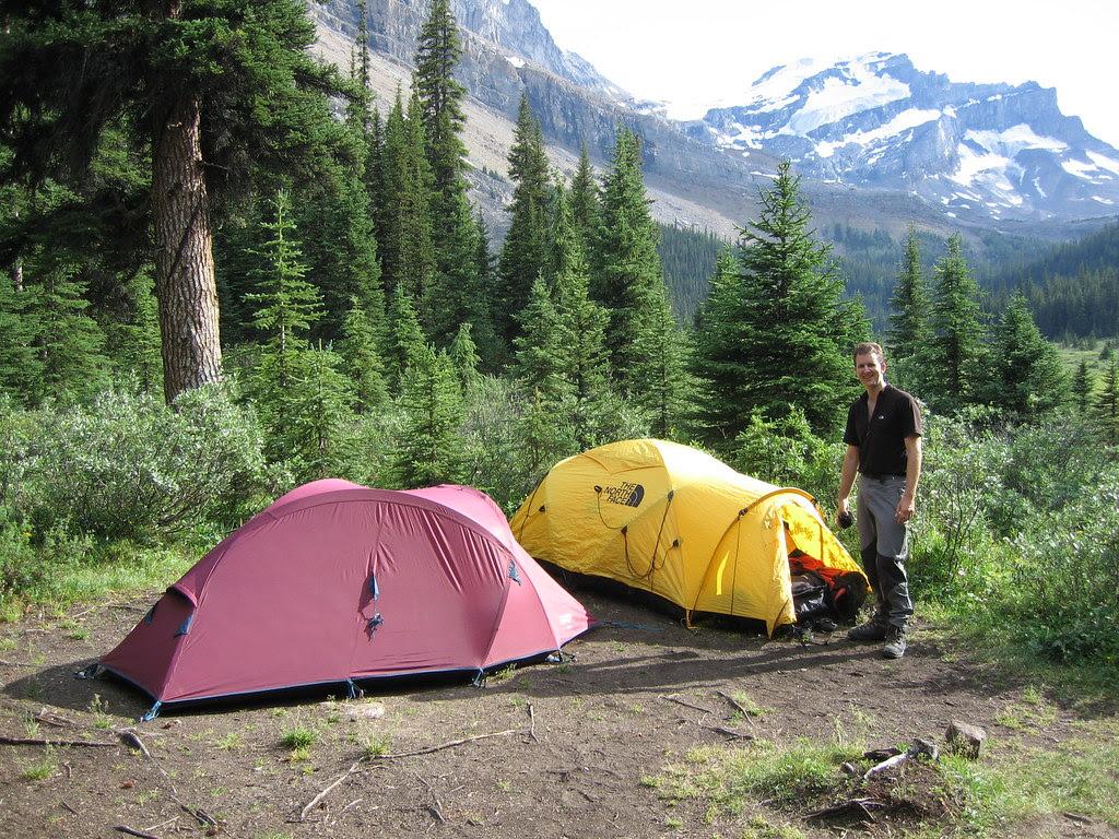 Camping at Merlin Meadows