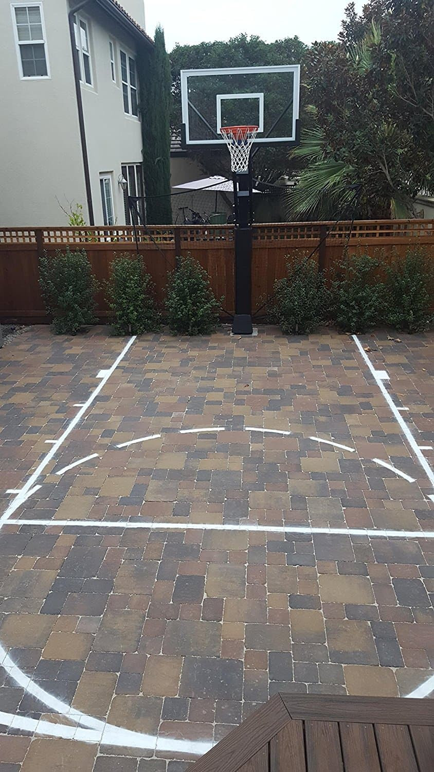 Tips to Make Your Own Basketball Court [Stencils, Layouts ...