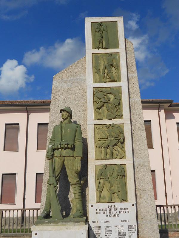 monumento ai caduti, Borsea