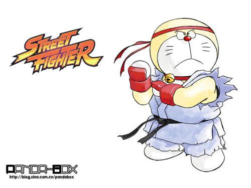doraemon - street fighter