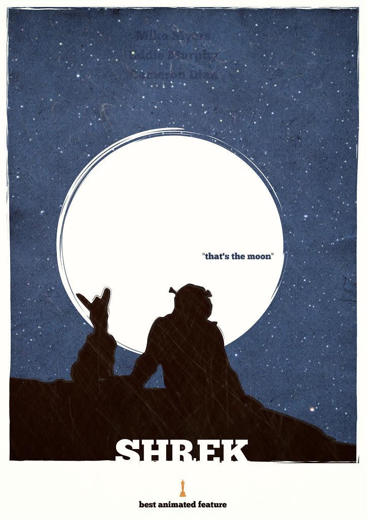 Shrek - Minimalist poster
