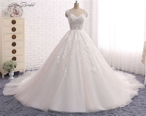 Princess Ball Gown Wedding Dresses Vestido de Noiva 2017