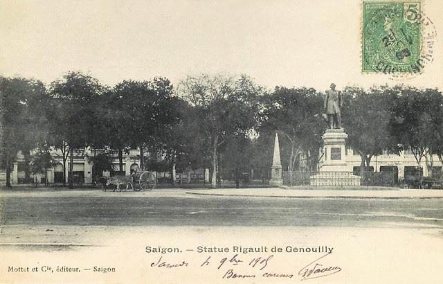 SAIGON - STATUE RIGAULT DE GENOUILLY