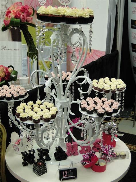 Chandelier Cupcake Stand!   Cake Plates & Stands