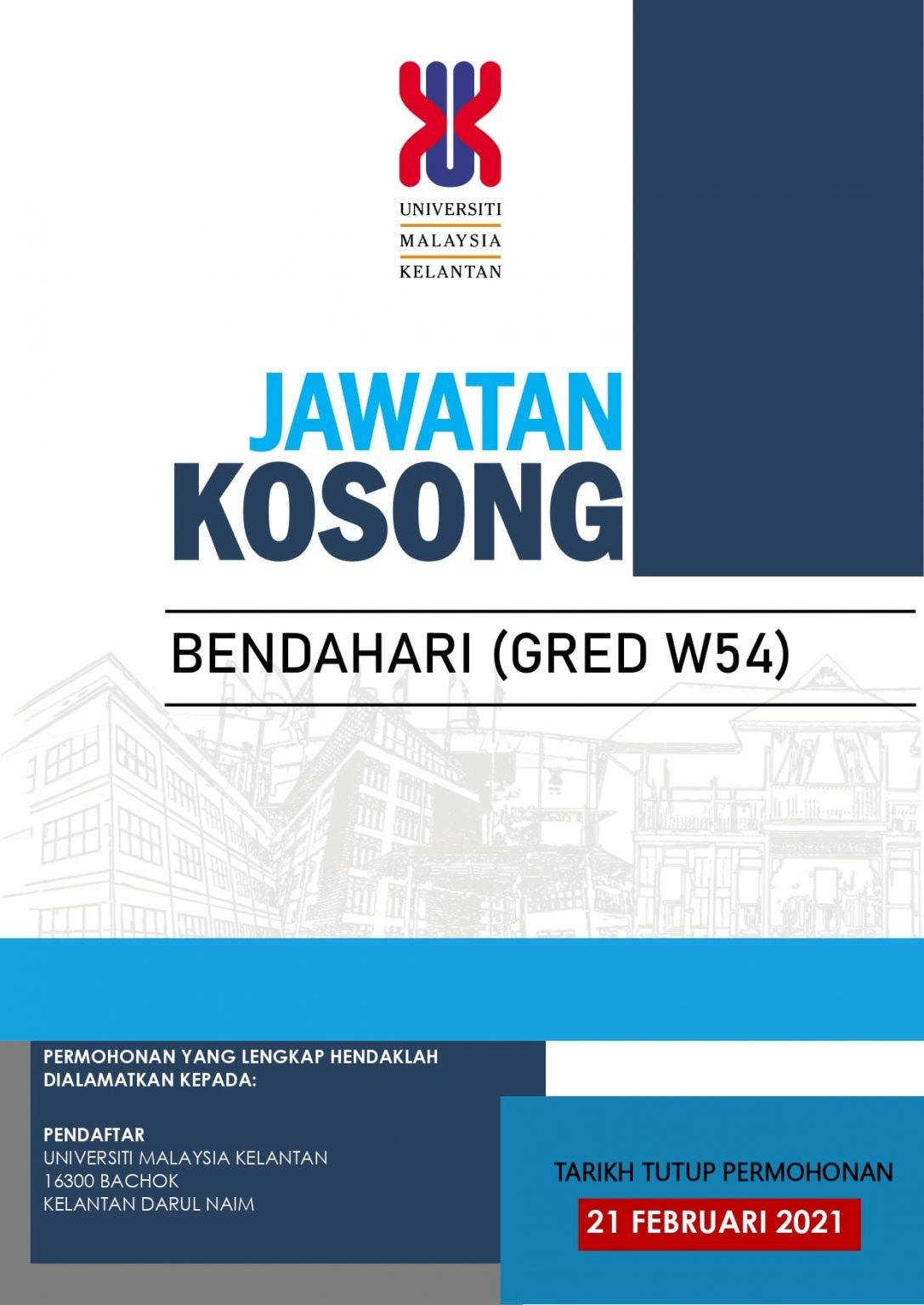 Jawatan Kosong Universiti Malaysia Kelantan • Jawatan ...