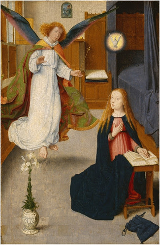 Gerard David Annunciation at DIA