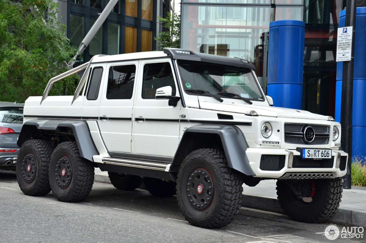 Mercedes-Benz Brabus B63S 700 6x6 - 16 August 2014 ...
