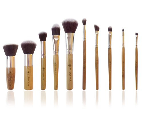 Makeup brushes that look like hair brushes