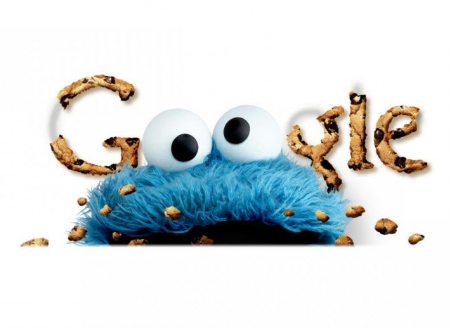 Google Cookies with Sesame Street Cookie Monster