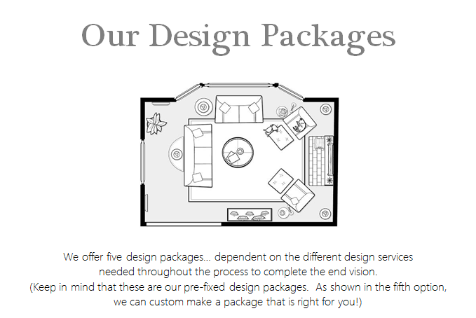 Our Design Packages – Rockridge Furniture & Design