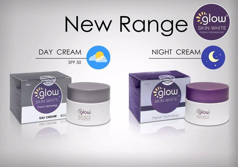 GLOW SKIN WHITE DAY CREAM OR NIGHT (end 3/18/2017 11:15 AM)