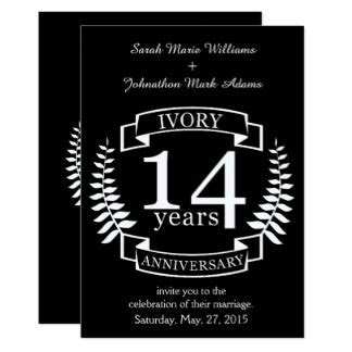 14 Year Wedding Anniversary Gifts   T Shirts, Art, Posters