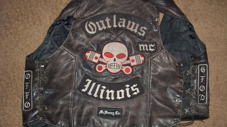 Outlaws Motorcycle Club vest