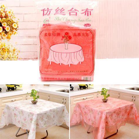 10pcs Disposable Tablecloths Thicken Hotel Banquet