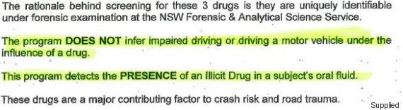 drug impairment