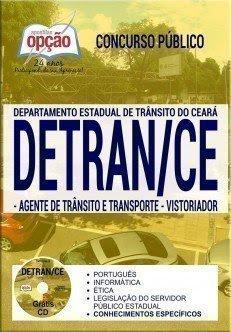 Apostila Concurso DETRAN CE 2017 | AGENTE DE TRÂNSITO E TRANSPORTE E VISTORIADOR