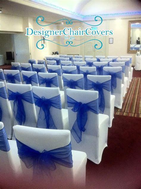 Electric Sea Blue Organza sash wedding inspiration