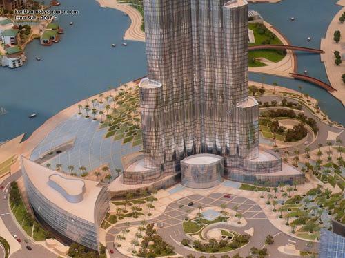 Burj Dubai Model