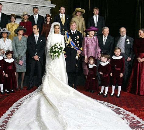 Valentino designed Princess Maxima of Netherlands' wedding