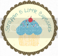 Scrappin 5 Little Cupcakes