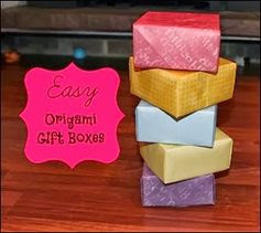 Many Waters Easy Origami Boxes http://paulams.weebly.com/blog.html