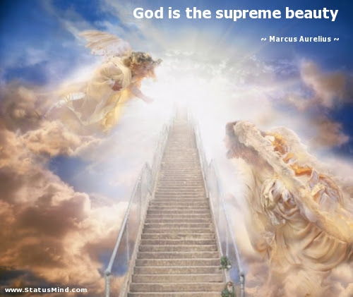 God Is The Supreme Beauty Statusmindcom