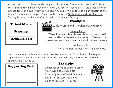 how to write a comparative essay movie and book