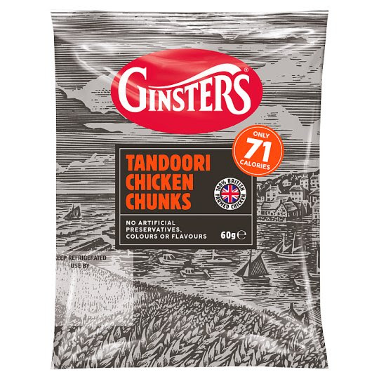 Ginsters Tandoori Chicken Bites 60G