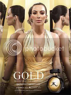 Kim Kardashian Latest Fragrance Ad