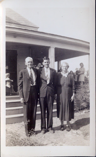 Uncle Willie and Aunt Mary and son. In  Alabama