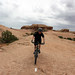 Me Riding the Slickrock Trail