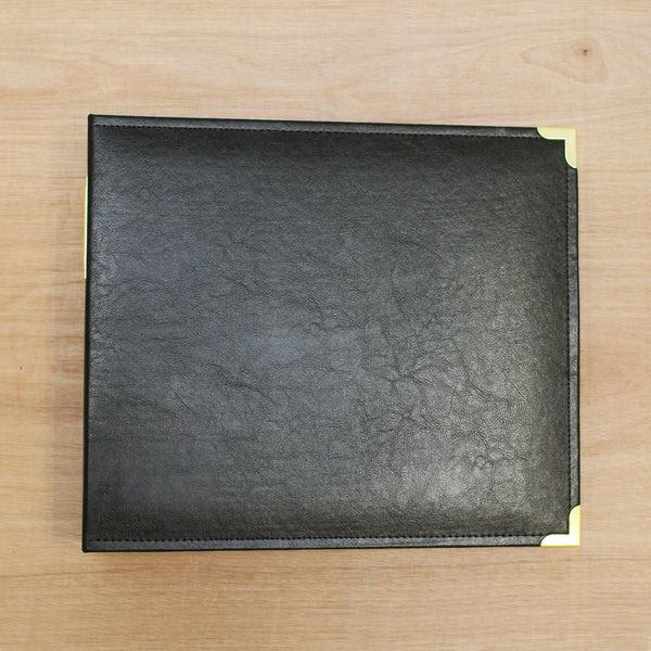 Black Gold 12x12 Faux Leather Scrapbooking Album Becky Higgins