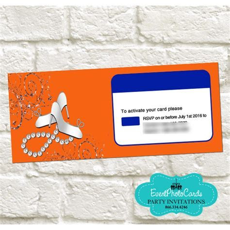 Wedding   Credit Card Turquoise Teal Invitations