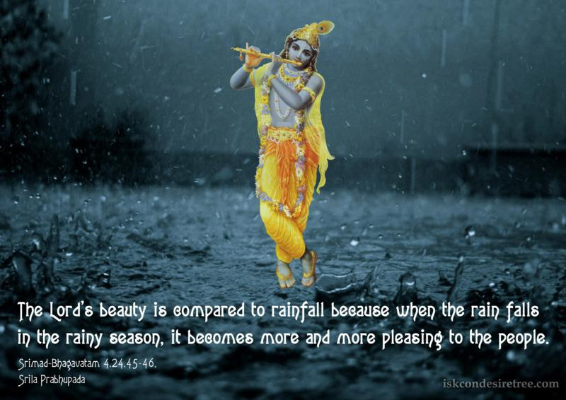 Beauty Of The Lord Spiritual Quotes By Iskcon Desire Tree