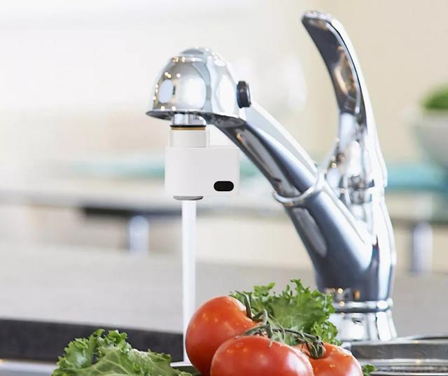 【小達感應式水龍頭】一掃感應即出水、自動關水喉 消費券網購
