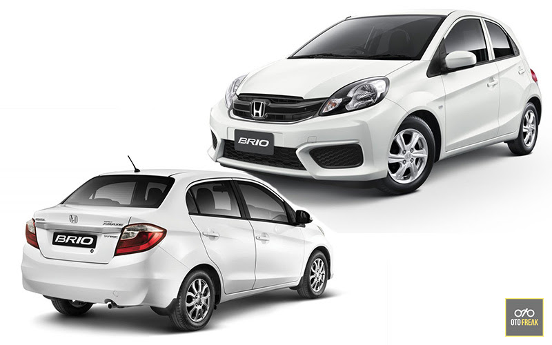 New Honda Brio vs Mitsubishi Mirage Indonesia Review 2019 oleh - peugeot3008.uno