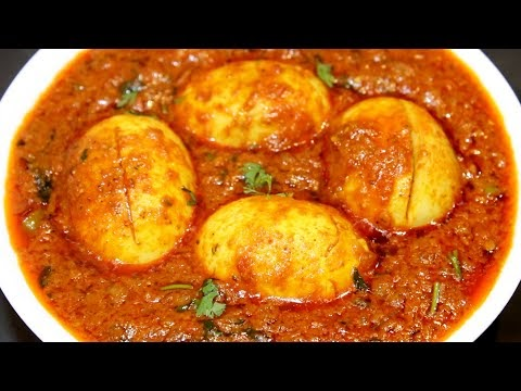 Dhaba Style Egg Masala Curry