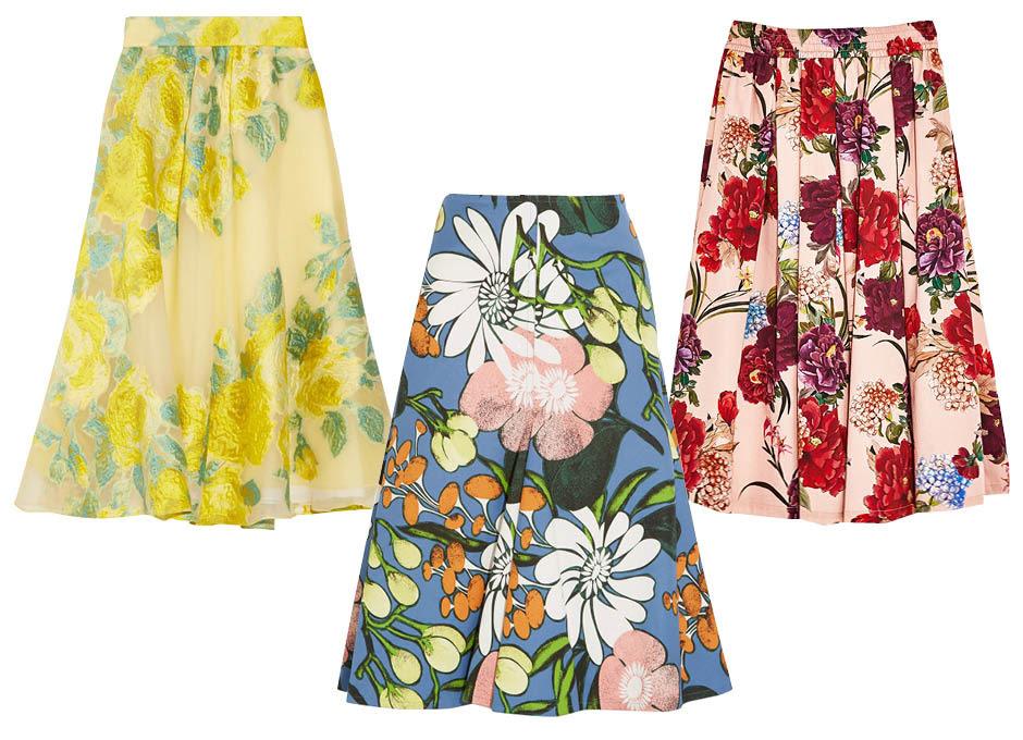 Модные юбки лето 2017