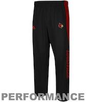 adidas Louisville Cardinals Sideline Player Warm-Up Performance Pants - Black
