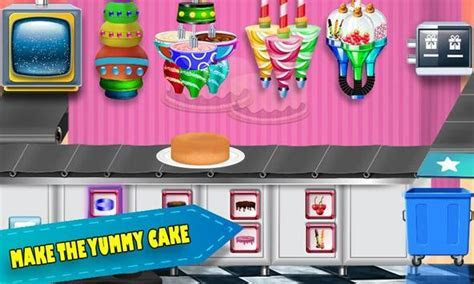 Birthday Chocolate Cake Factory: Dessert Food Game for