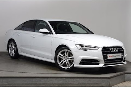 2017 Audi S6 White